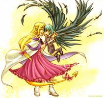 Slayers - Dragons by sora-ko