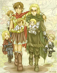 APH - Dysfunctional Family by sora-ko