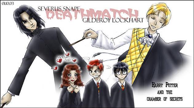 Harry Potter - Deathmatch by sora-ko
