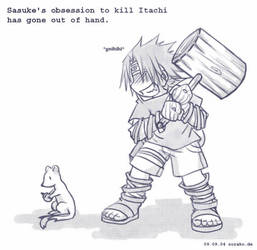 Naruto - The weasel killer by sora-ko