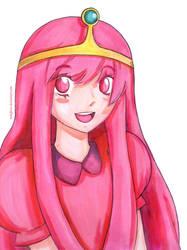Princess Bubblegum by melofarce