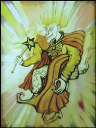 Magic Goblin casting spells by MushroomBrain