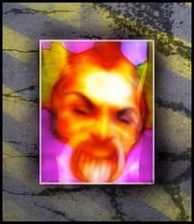 Dragon Ogre Hybrid Demon Prince of Chaos by MushroomBrain