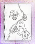MushroomBrains Sketch Book by MushroomBrain