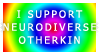 Support Neurodiverse Otherkin by and-stamps