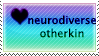 heart neurodiverse otherkin by and-stamps
