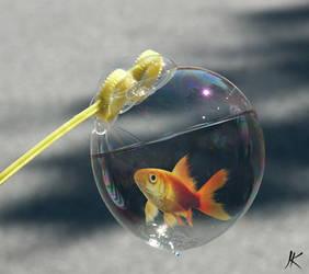poisson bulle by juletjess