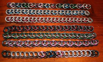 Maille Bracelet Group Shot by beryc