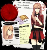 FH: Scarlet.D by BlackBunii