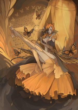 Princess Amra by BlackBunii