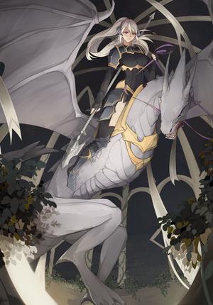 Lady Emvesser The Wyvern Lord by BlackBunii