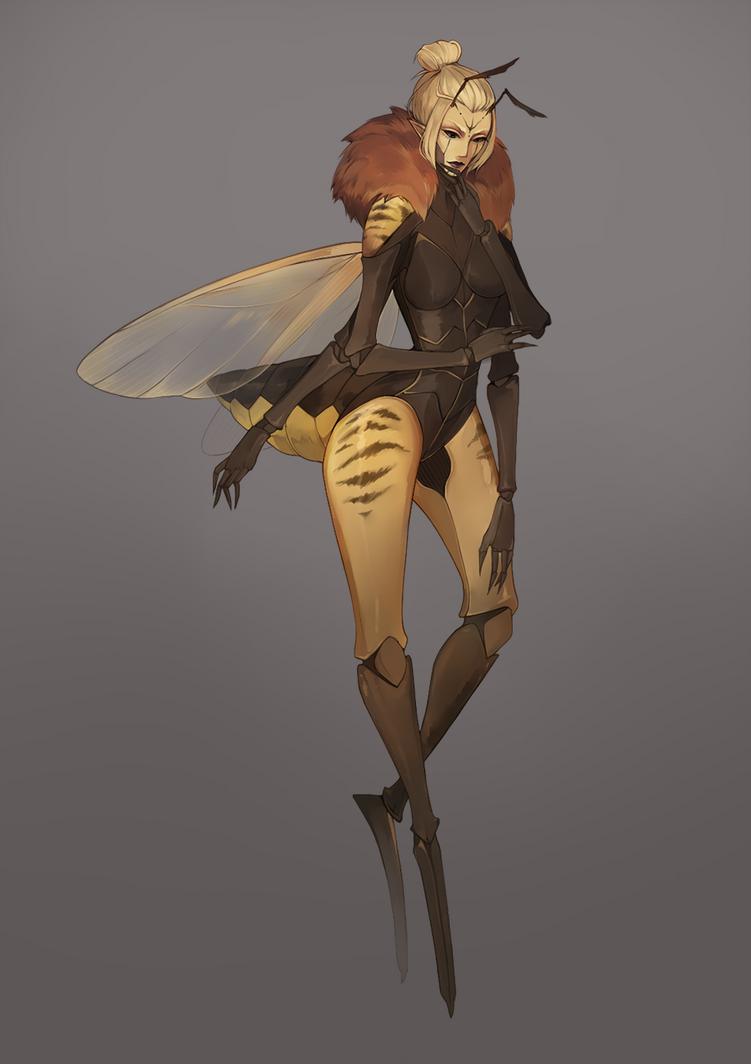 Queen Bee : Blaire by BlackBunii