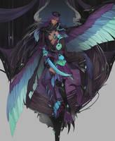 Harpy Devotion by BlackBunii