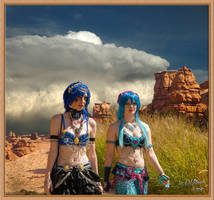 Comic Con Desert Dancers by MichaelAtman