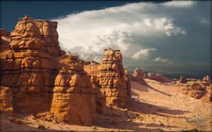 Desert Ridge by MichaelAtman