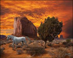 Monument Stallion by MichaelAtman