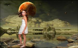Walking on Venus by MichaelAtman