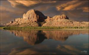 River Reflection by MichaelAtman