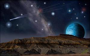 Alien Butte by MichaelAtman