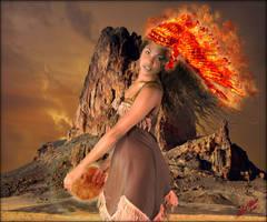 Fire Princess by MichaelAtman
