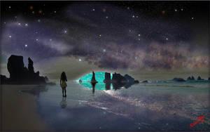 Cosmos Reflection by MichaelAtman