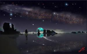 Cosmos Reflection 2 by MichaelAtman