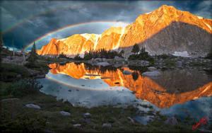 Snowy Range Reflection 2 by MichaelAtman
