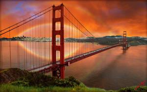 Golden Rainbow by MichaelAtman