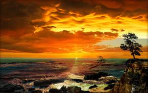 Arago Sunset wp by MichaelAtman
