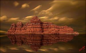 Desert Reflection by MichaelAtman
