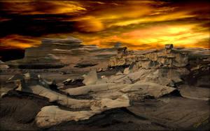 Bisti Ruins Sunset by MichaelAtman