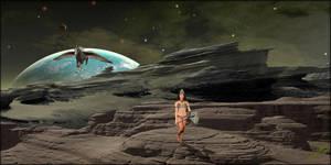 Alien Warrior by MichaelAtman