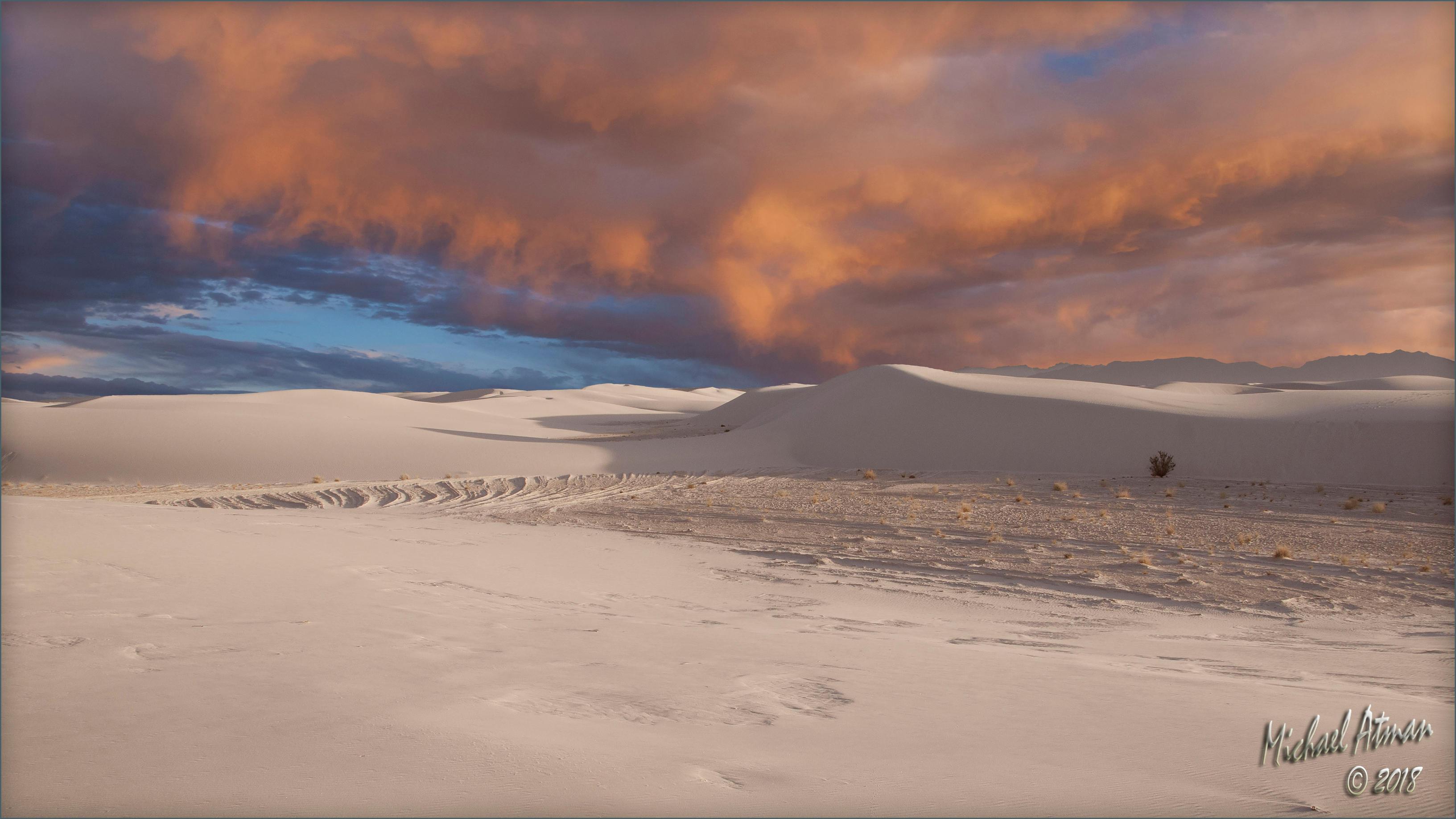 White Sands sunset 3 by MichaelAtman