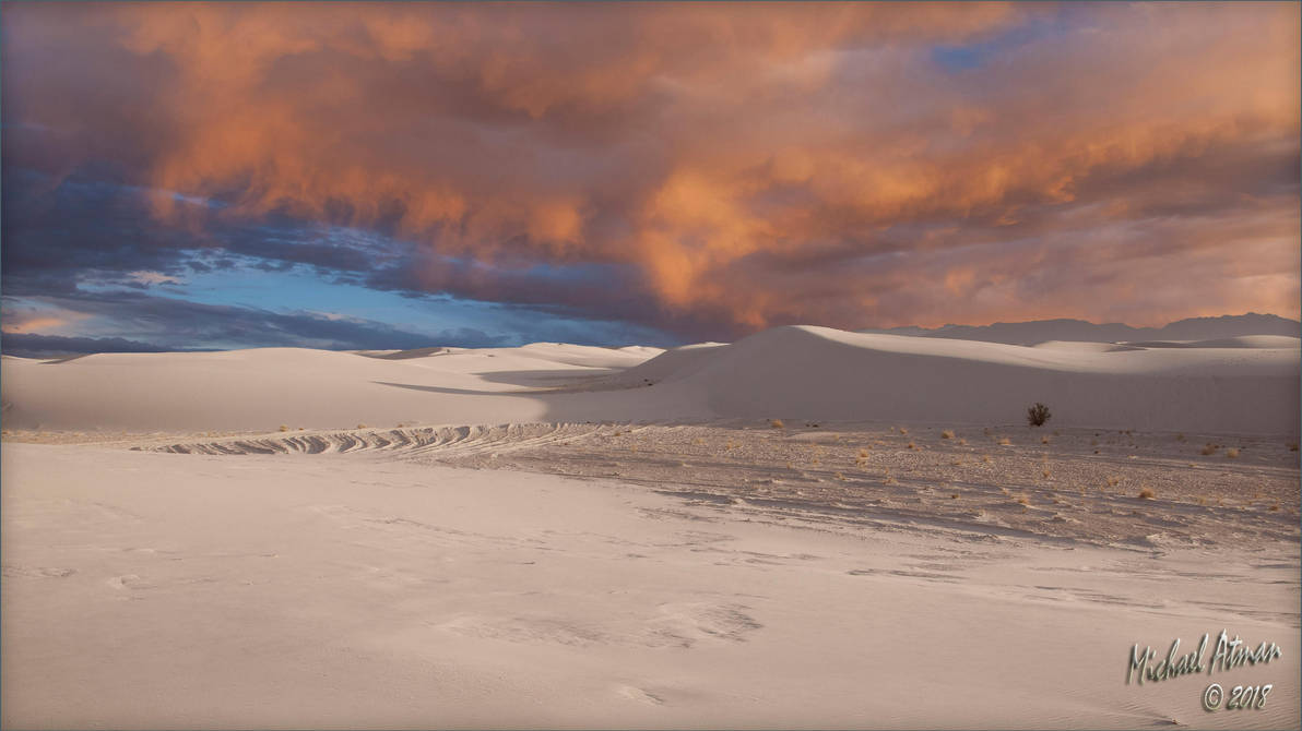 White Sands sunset 3 by MichaelAtman