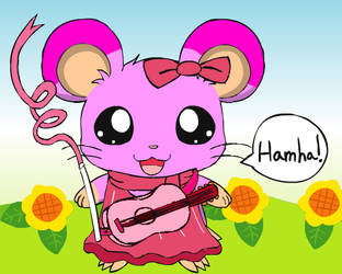 Bria the hamster by Angelthahedgehog1