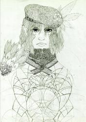 WIP: Draw This Again: Highelven Lady Tajheri by Pedigri