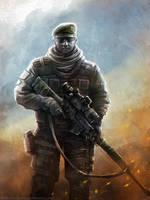 Border Guard by Noldofinve