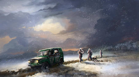 The Border III by Noldofinve