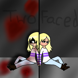 Two Faces by GalaxyTacoArt