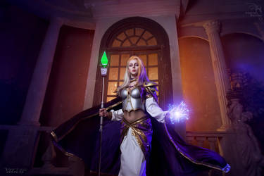 Jaina Proudmoore -  The leader of the Kirin Tor by ver1sa