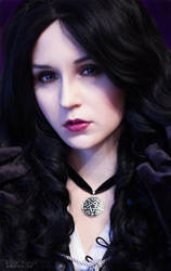 The Witcher: Wild hunt - Yennefer by ver1sa