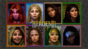 Heroes of Might and Magic III cosplay by ver1sa