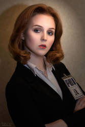 The X-Files - Dana Scully cosplay by ver1sa