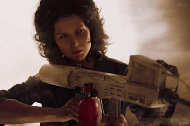 Alien (1979) - Ripley cosplay by ver1sa