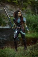 Warcraft teaser - Garona by ver1sa