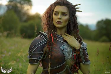 Warcraft movie - Garona cosplay by ver1sa