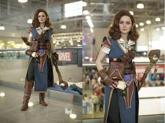Pathfinder: Kingmaker - Octavia cosplay by ver1sa