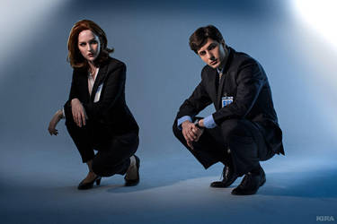 The X-Files - Scully and Mulder by ver1sa