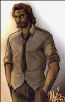 Bigby Wolf by MellorianJ