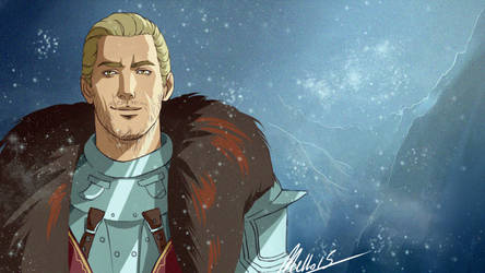 The Commander of Skyhold by MellorianJ
